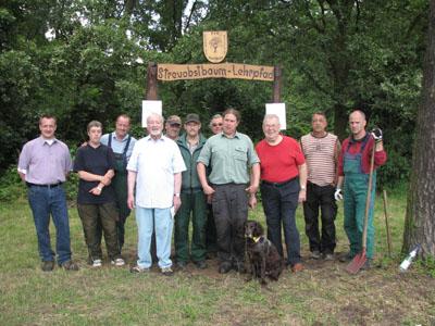 Streuobstbaum-Lehrpfad offiziell eingeweiht